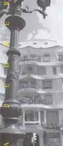 Lámina La Pedrera III Barcelona MamagraF