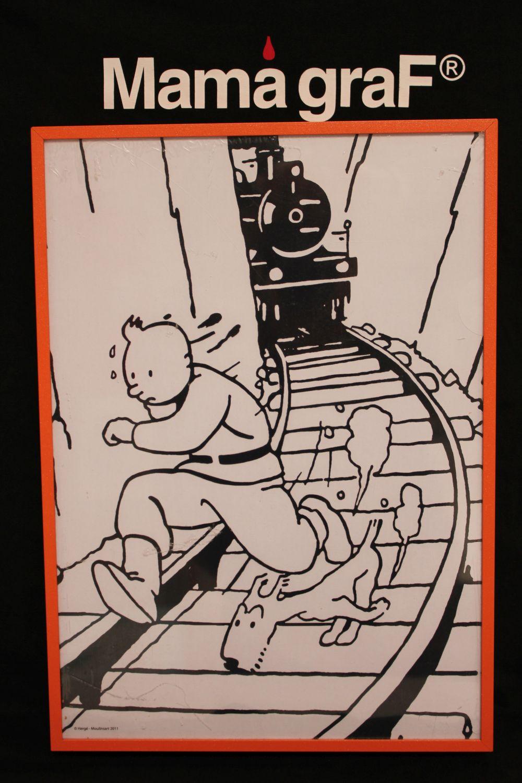 Cuadro Tintin sobiets 22×32 alto